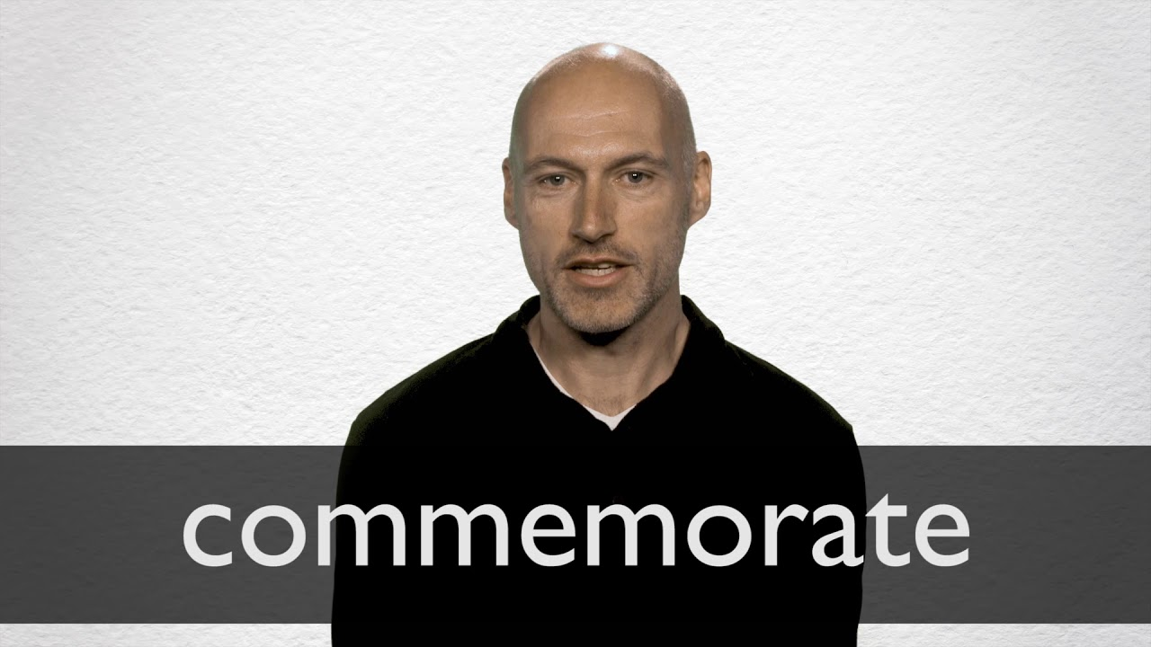 How to pronounce COMMEMORATE in British English