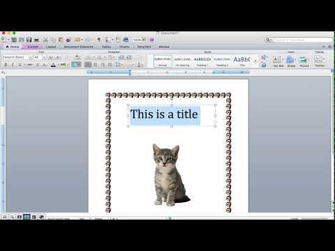 Borders, Clip Art, Text Box