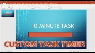 Het Maken Van Een Aangepaste Voortgangsbalk Timer In PowerPoint