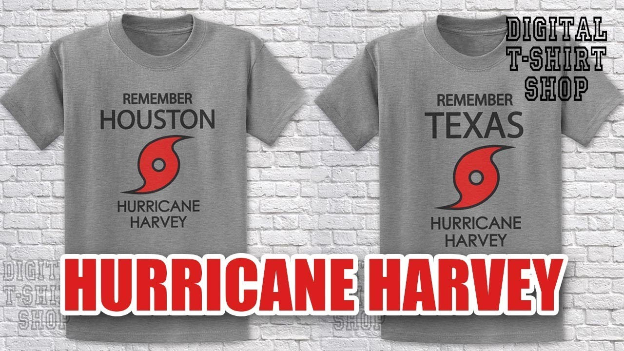 Digital T Shirt Shop Donations To Hurricane Harvey Relief Efforts