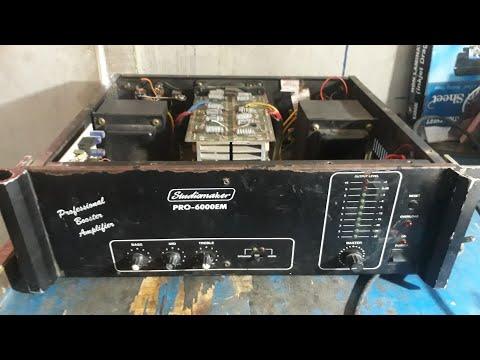 Amplifier Repair (in Hindi) studiomaker 600W.