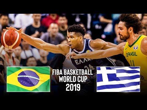 Brazil 🇧🇷 V Greece 🇬🇷 - Classic Full Games | FIBA Basketball World Cup 2019