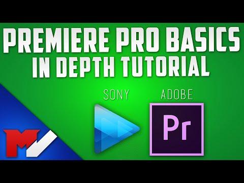 Adobe Premiere Pro CS6/CC Basics Tutorial - Sony Vegas to Premiere Beginner Guide