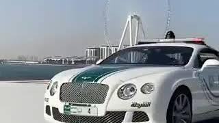 Dubai police cars. super high capacity vehicles