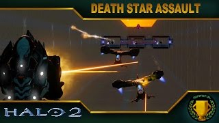 Halo 2 Custom Game : Death Star Assault