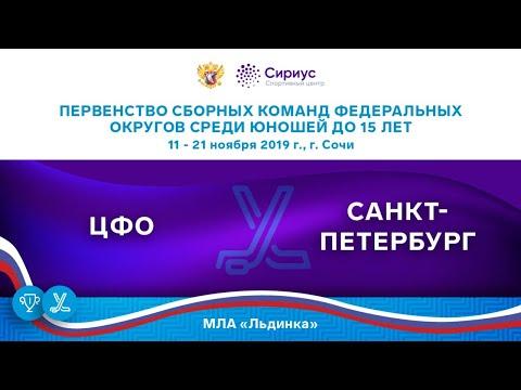 Хоккейный матч. 12.11.19. «ЦФО» - «Санкт-Петербург»