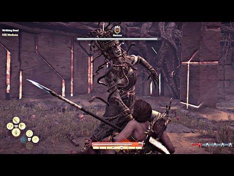 Assassin's Creed Odyssey - MEDUSA Secret Max Level LEGENDARY Boss Fight & Best Sword (PS4 Pro) thumbnail