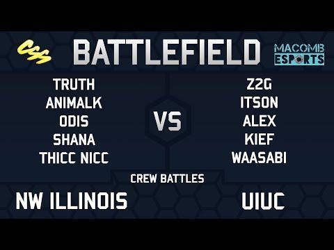 [MESA: Battlefield 5] Crew Battles: Northwestern Illinois vs. UIUC