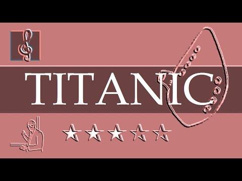 Ocarina  Notes Tutorial  My heart will go   Titanic Sheet music