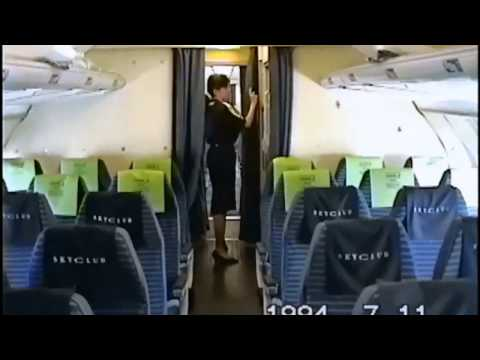THE SIGHT & THE SOUND 2/2 : Malev TU-154 HA-LCB documentary from Budapest to Frankfurt