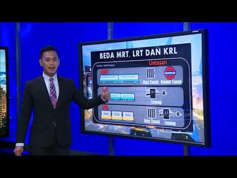 Mengenal Perbedaan Antara MRT, LRT & KRL