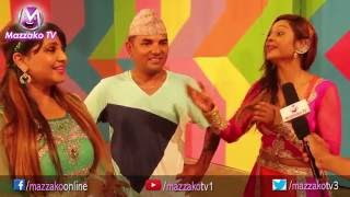 masti n fun with shankar bc nisha sunar deepashree niraula    mazzako tv