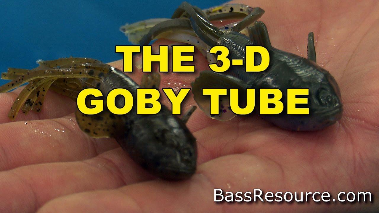"Savage Gear 3D Goby Tube Bait 4"" Crawfish"