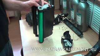 Заправка картриджа HP CC364X(Достаточно серьезный картридж в плане скорости и объема печати. На видео показан полный процесс заправки..., 2014-06-24T12:14:14.000Z)