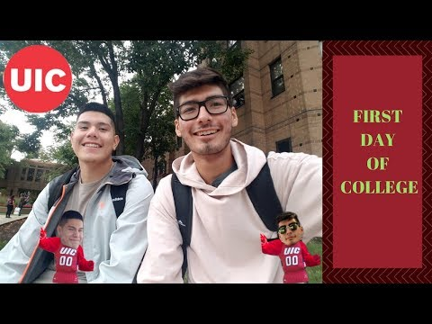 First Day of College - UIC