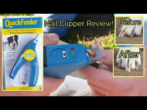 QuickFinder Safety Nail Clipper Review!   Chubby Jumpers