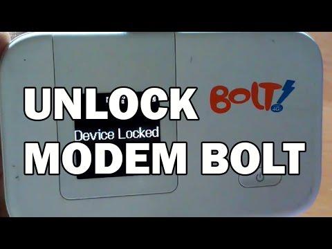 Unlock Modem Bolt
