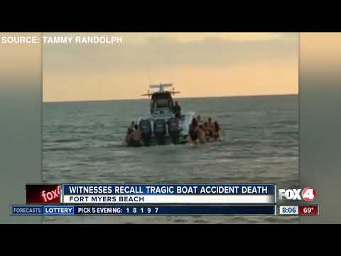 Woman killed by boat propeller off Fort Myers Beach