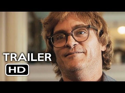 Don't Worry, He Won't Get Far on Foot  Trailer #1 2018 Joaquin Phoenix Biography Movie HD