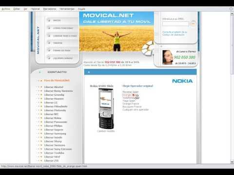 Liberar Nokia 6500 Slide en Movical.Net
