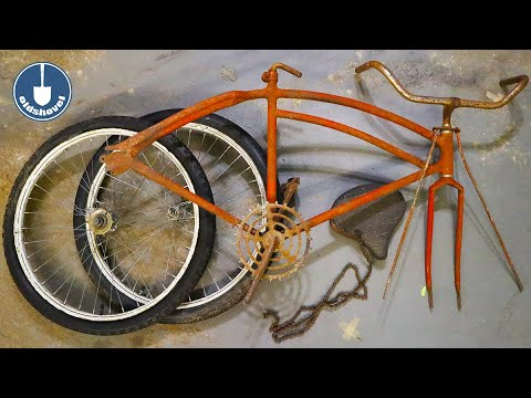 Restoring an Old and Rusty Family Relic Bicycle thumbnail