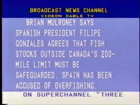 Videon Cable TV - Broadcast News Channel (May 16, 1990)