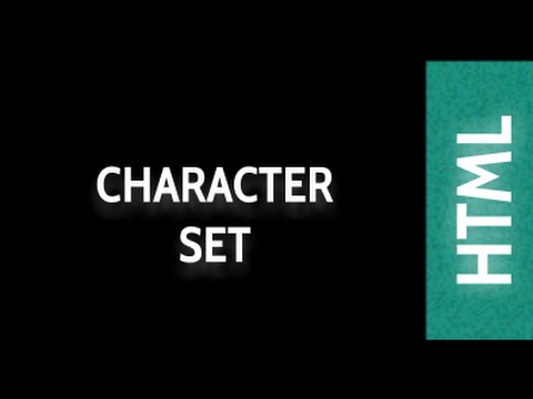 HTML Web Design Tutorials: HTML Character Set Lesson 29