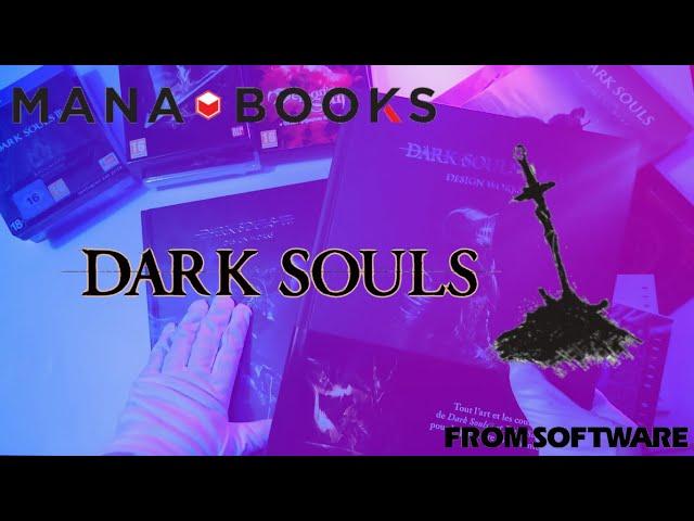 Review des magnifiques artbooks Dark Souls de mana books !!