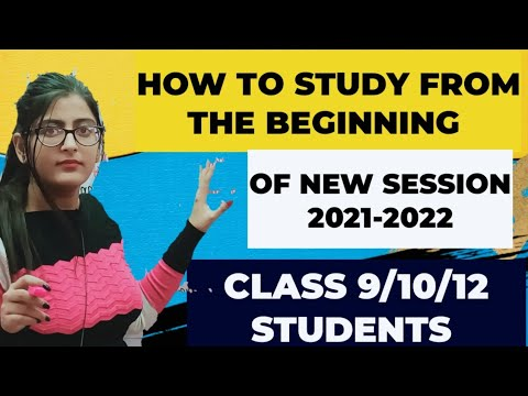 Download How to study from the beginning of New Session/Everything you have to do/CLASS 9/10/12