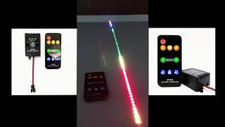 SP106E LED Music Controller For Addressable RGB LED Strip Lights
