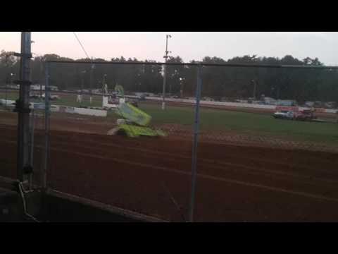 ASCoC Sprint Car Heat 3 Brownstown Speedway