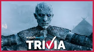 Hardcore Trivia for Game of Thrones fans