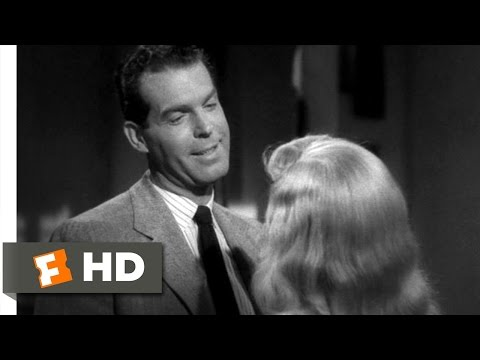How Fast Was I Going, Officer? - Double Indemnity (2/9) Movie CLIP (1944) HD
