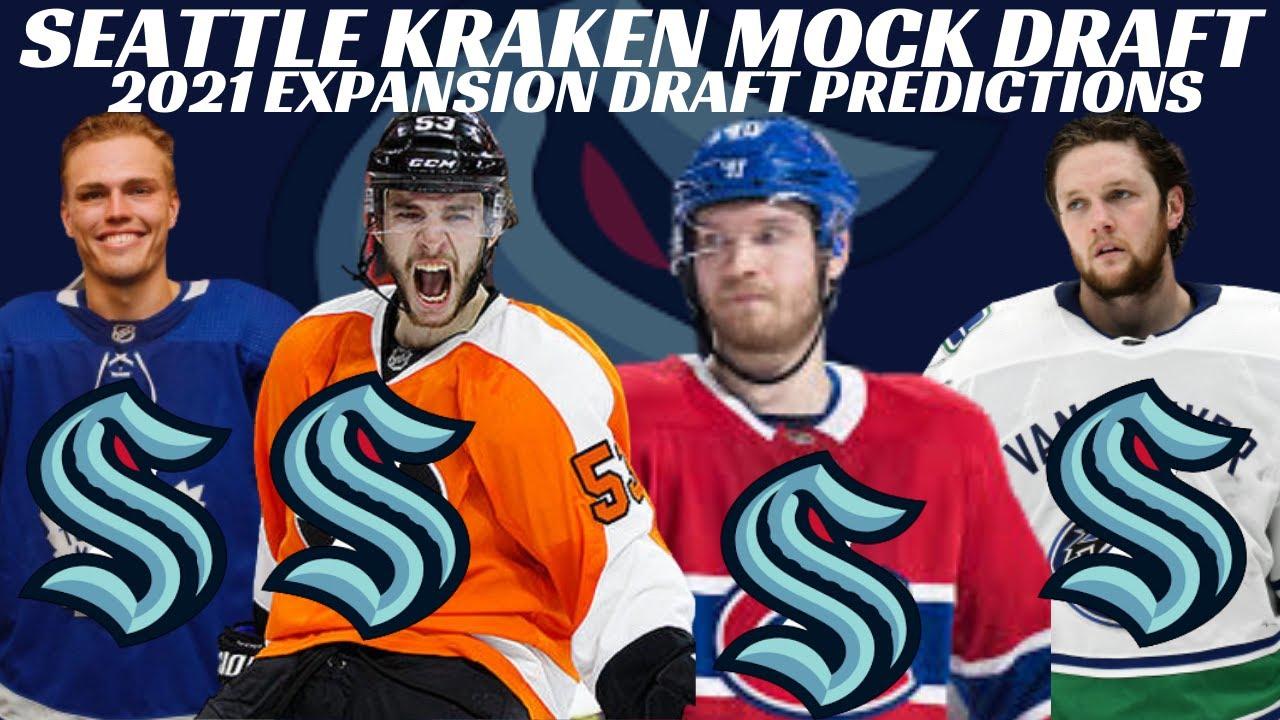 Seattle Kraken 2021 Mock Expansion Draft - OhTheme