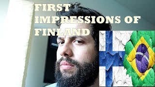My First Impressions of Finland