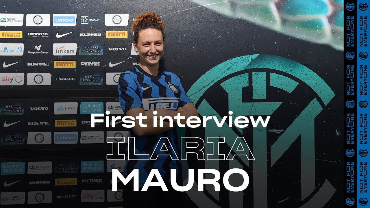 ILARIA MAURO | INTER WOMEN 20/21 | Exclusive first Inter TV Interview | #WelcomeIlaria ⚫️🔵 [SUB ENG]