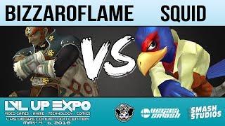 LVL Up Expo 2018: [Melee] KYOTO | BizzaroFlame (Ganondorf) vs Squid (Falco) - Top 8