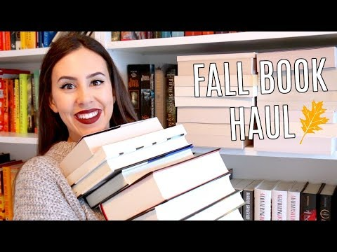 HUGE OCTOBER BOOK HAUL 2017    Books I've Bought This Fall
