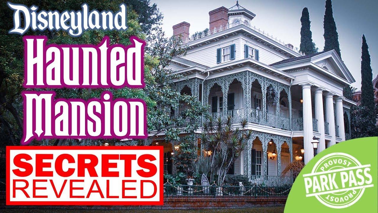 [Secrets Revealed] Haunted Mansion Disneyland