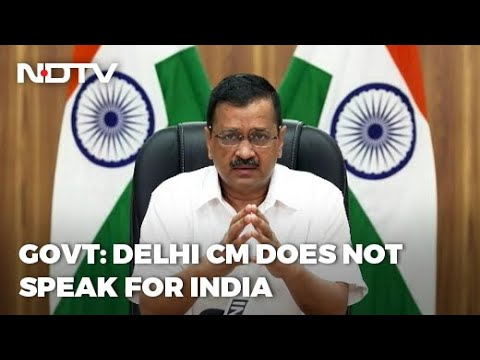 Covid-19 News: Arvind Kejriwal Doesn't Speak For India: Government As Singapore Objects
