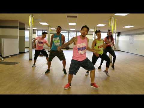 "Dance Cardio: ""Andas En Mi Cabeza"" by Chino Y Nacho ft. Daddy Yankee Zumba ® Routine Team iN2iT!"