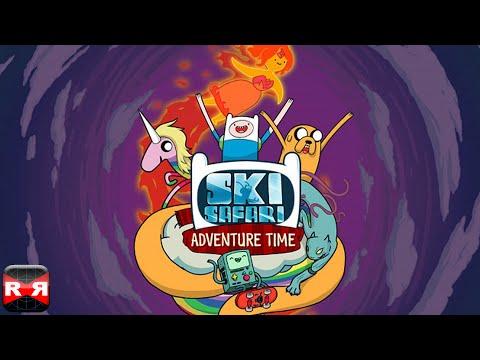 Ski Safari: Adventure Time - Stunt Skiing Endless Runner with Finn and BMO - New Update Gameplay
