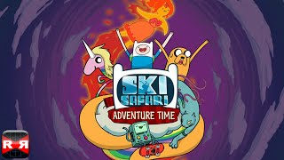 Ski Safari: Adventure Time - Stunt Skiing Endless Runner with Finn and BMO - New Update Gameplay