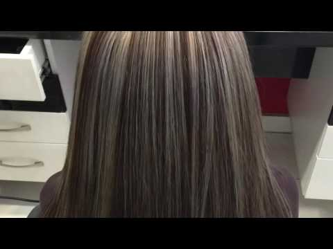 Strähnen Haarfarbe haircolor hairstylist OLAPLEX ashkan friseur Meister wien Weißblonde