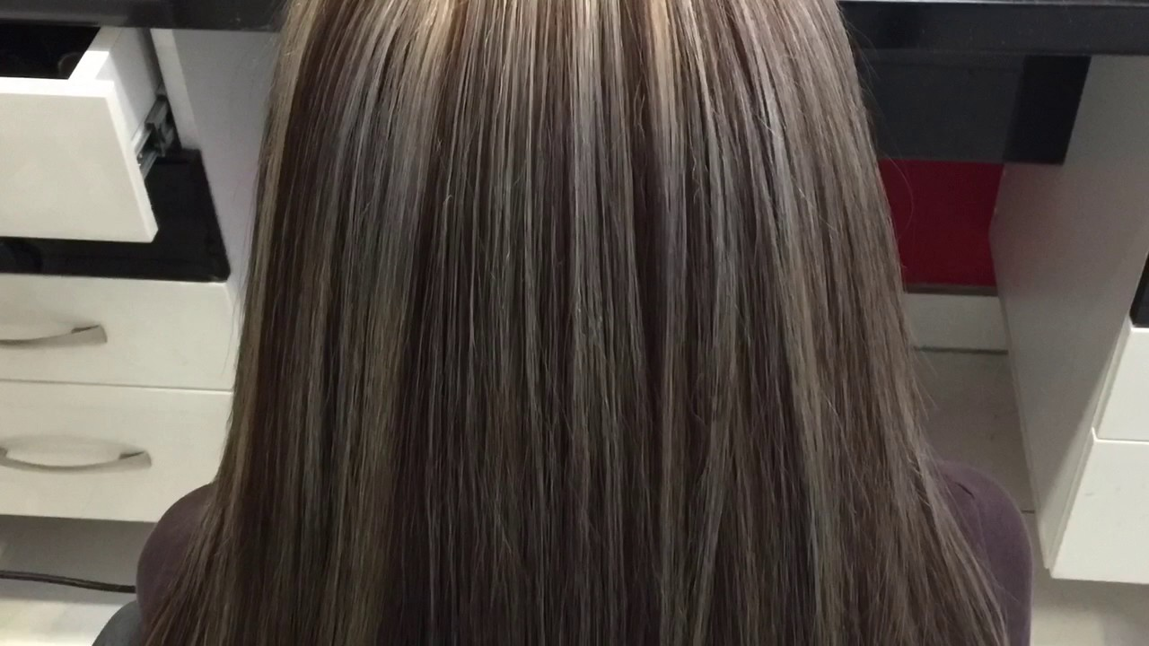 Haarfarbe beim friseur