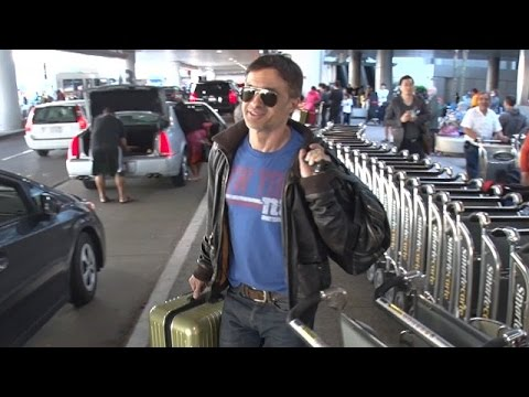 Olivier Martinez All Smiles When Asked About Divorce And $5 Mill Assault Lawsuit At LAX