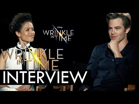 A Wrinkle in Time Exclusive Interview: Gugu Mbatha-Raw, Chris Pine