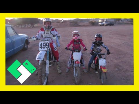 first-time-on-a-dirt-bike-track!-(2.12.14---day-684)-|-clintus.tv