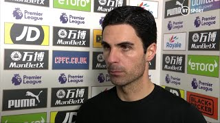 Arteta: The way we switched off for the equaliser was unacceptable and upset me