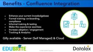Datalex Transforms Employee and Customer Training using EduBrite LMS App for Confluence
